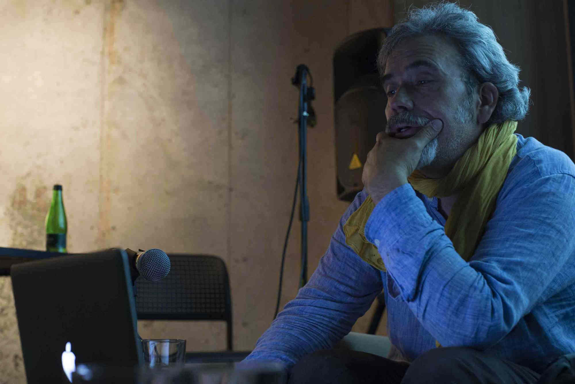 Diálogo con Pepe Guzmán en FIFV 2016. ©Ignacio Lamas