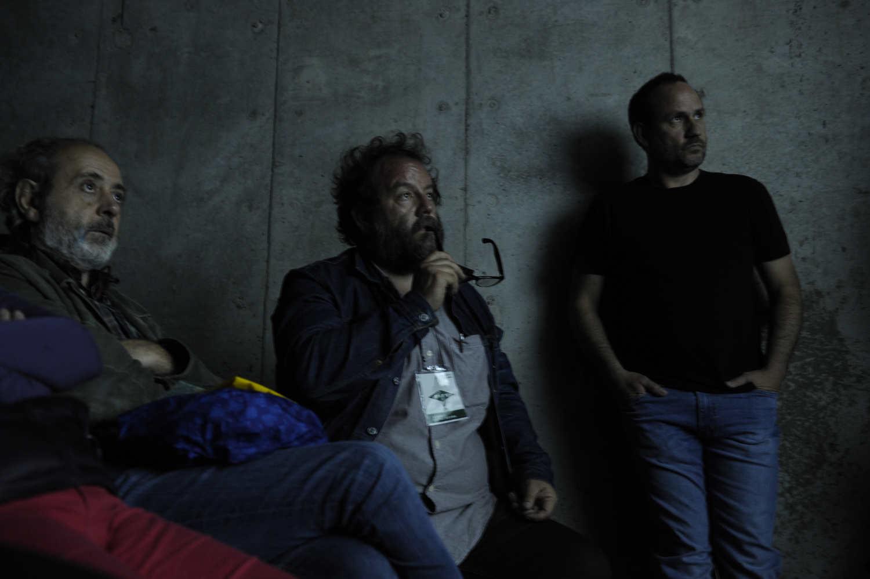 El documentalista Sebastian Moreno(D) participa de Diálogos Fotográficos en Valparaíso, FIFV 2016. ©Victor Ruiz Caballero