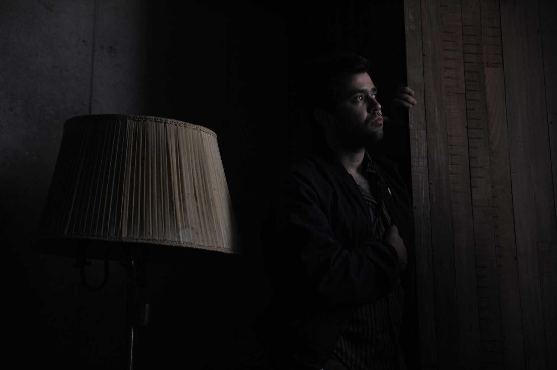 El documentalista Sebastian Moreno participa de Diálogos Fotográficos en Valparaíso, FIFV 2016. ©Victor Ruiz Caballero