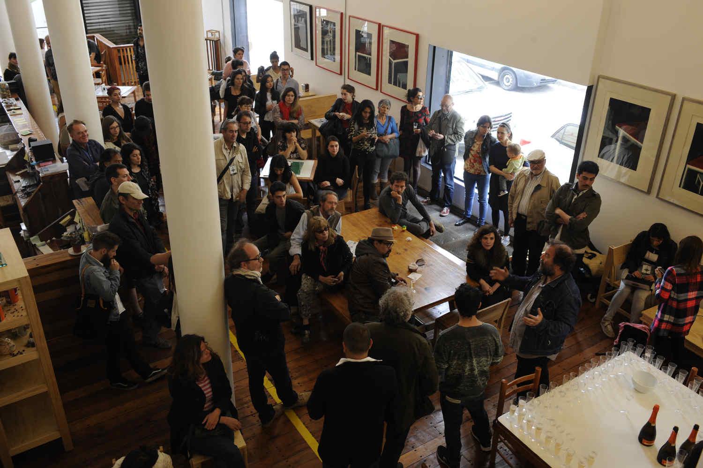 Inauguración de la exposiciones en Casa Plan en Valparaíso, FIFV 2016. ©Victor Ruiz Caballero