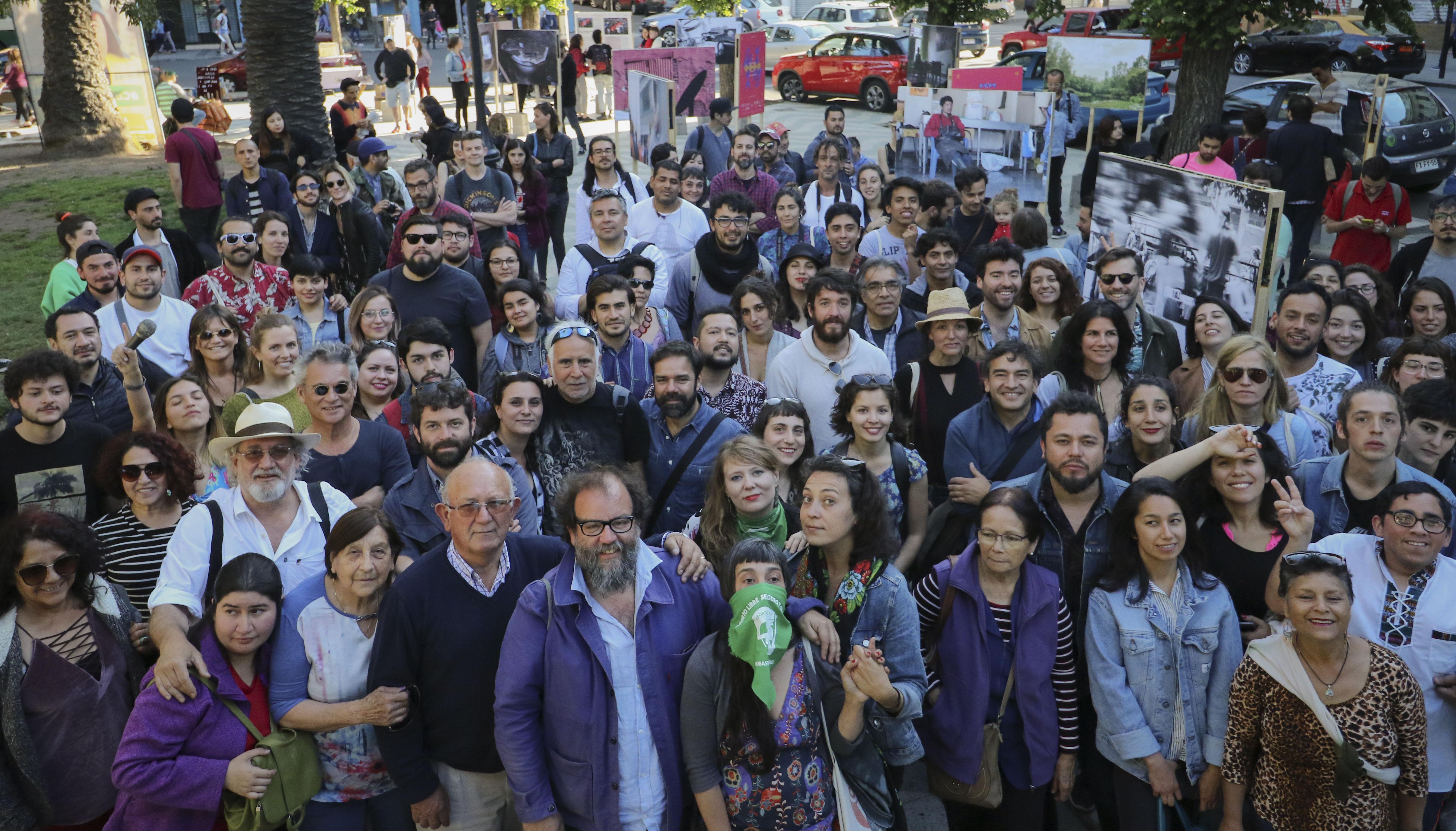 Exposicion en Plaza Victoria #FIFV 2018  © Eduardo Vargas /Fifv.